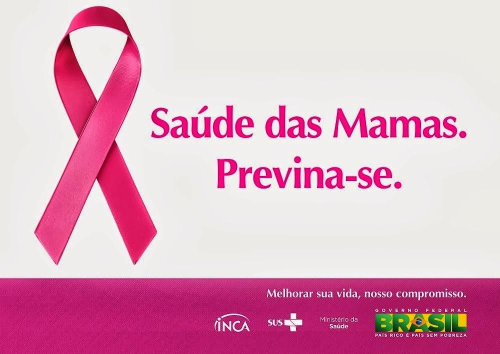Outubro Rosa Campanha contra o câncer de mama INCA