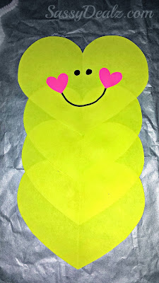 butterfly valentines love bug craft