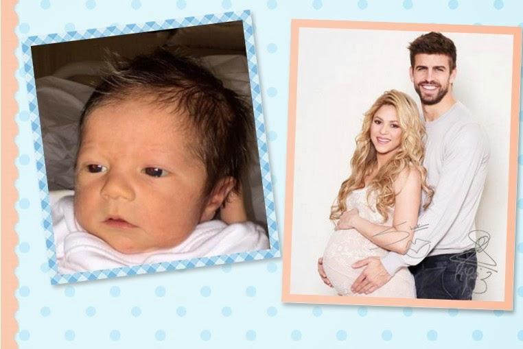 Sasha Piqué Mebarak segundo hijo de Shakira y Gerard Piqué