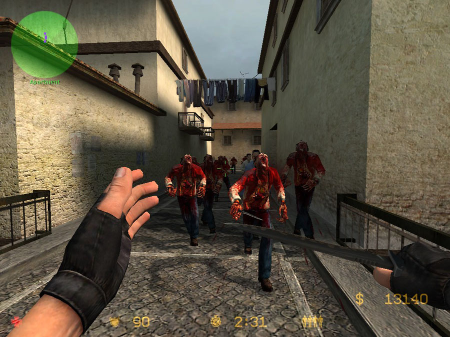 Counter Strike Zombie