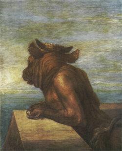 El Minotauro, según George F. Watts.