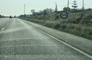 السرعة على الطريق السيار :