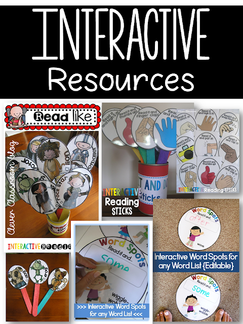 5 Sight Word Activities: Interactive printables and hands-on resources