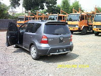 Pengiriman Nissan Livina D 1193 UK Jakarta ke Mataram
