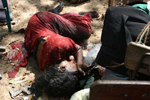 victims of the LTTE suicide bomber