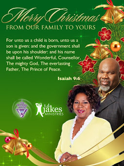 Marry Christmas from Bishop T.D. Jakes Ministries