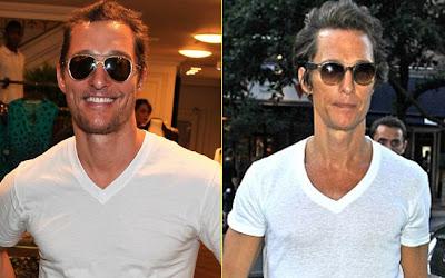 Ator Matthew McConaughey perde 13 Kilos e está irreconhecível