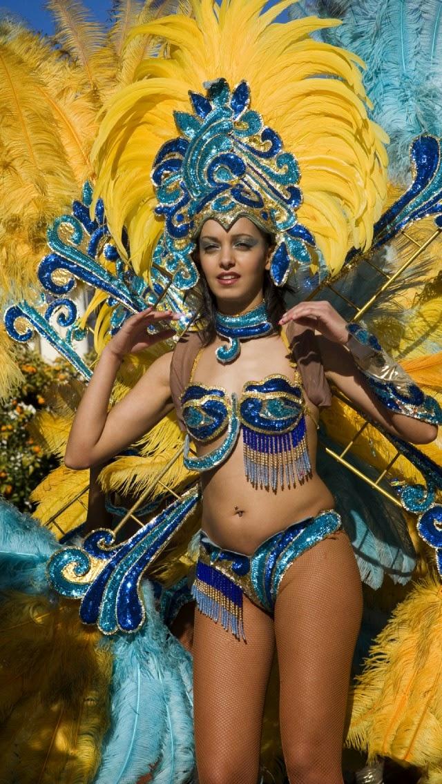 Rio Carnival - Samba Dancers