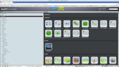 Showcase do JavaFX, novo padrão para componentes visuais avançados Java
