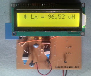 Simple and Accurate LC Meter Circuit - 16F690 test l