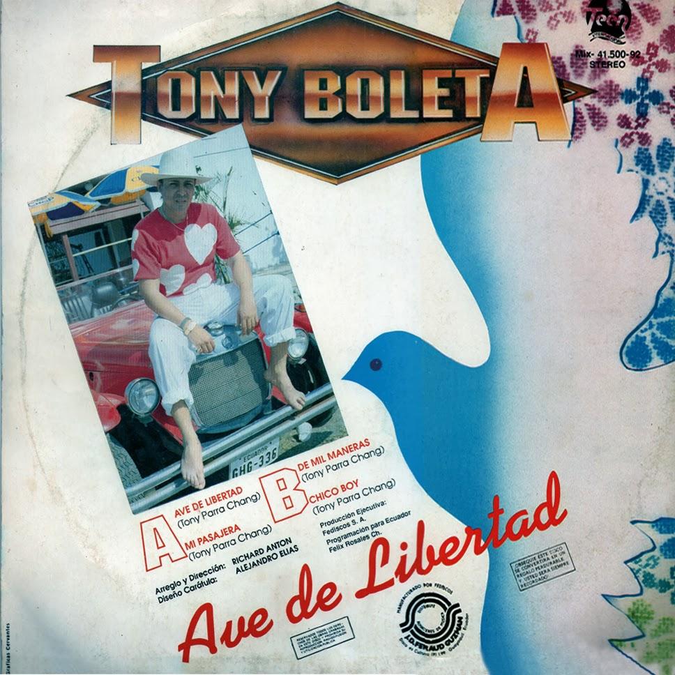 Tonny Expresso - Boleta