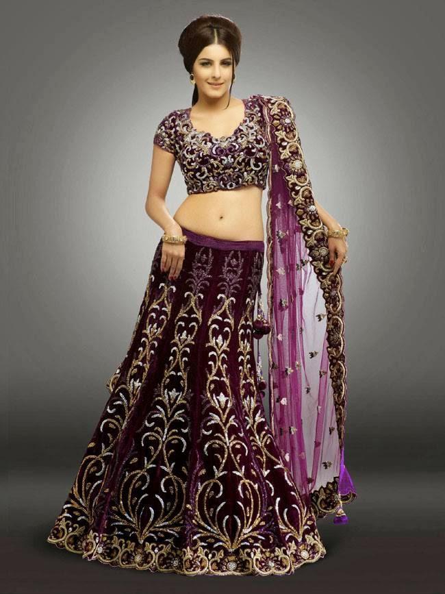 Isha Talwar In Designer Bridal Lehenga
