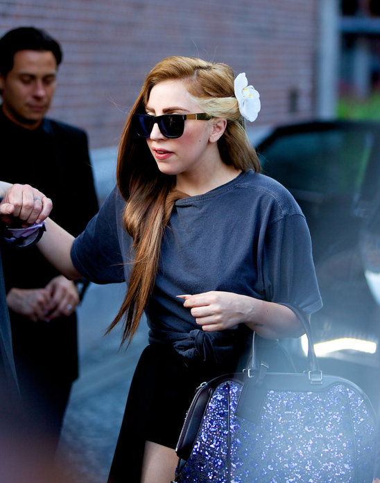 Celebs Art Lady Gaga New Hairstyle
