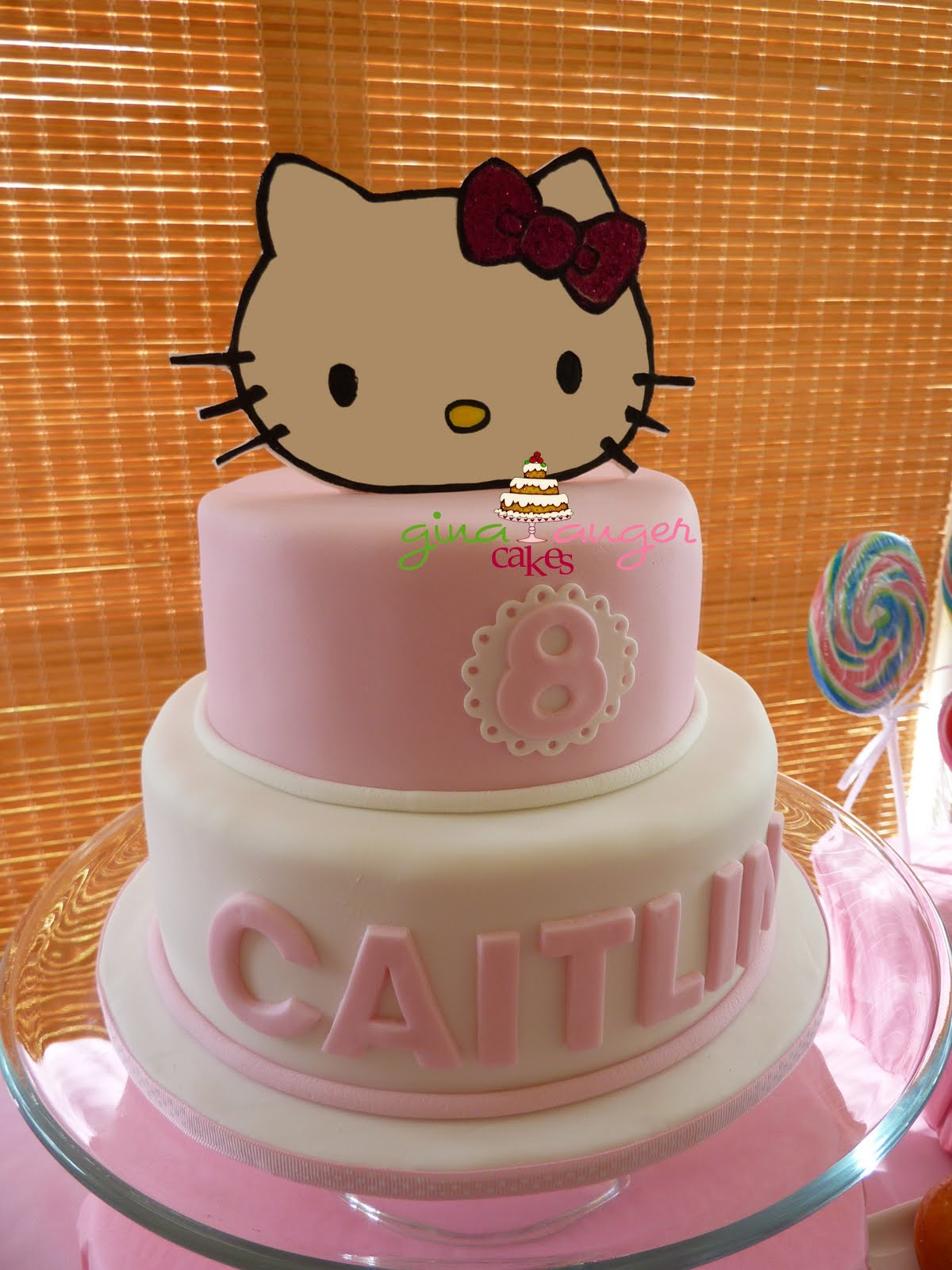 Top That!: Hello Kitty! {Caitlin's 8th Birthday cake}