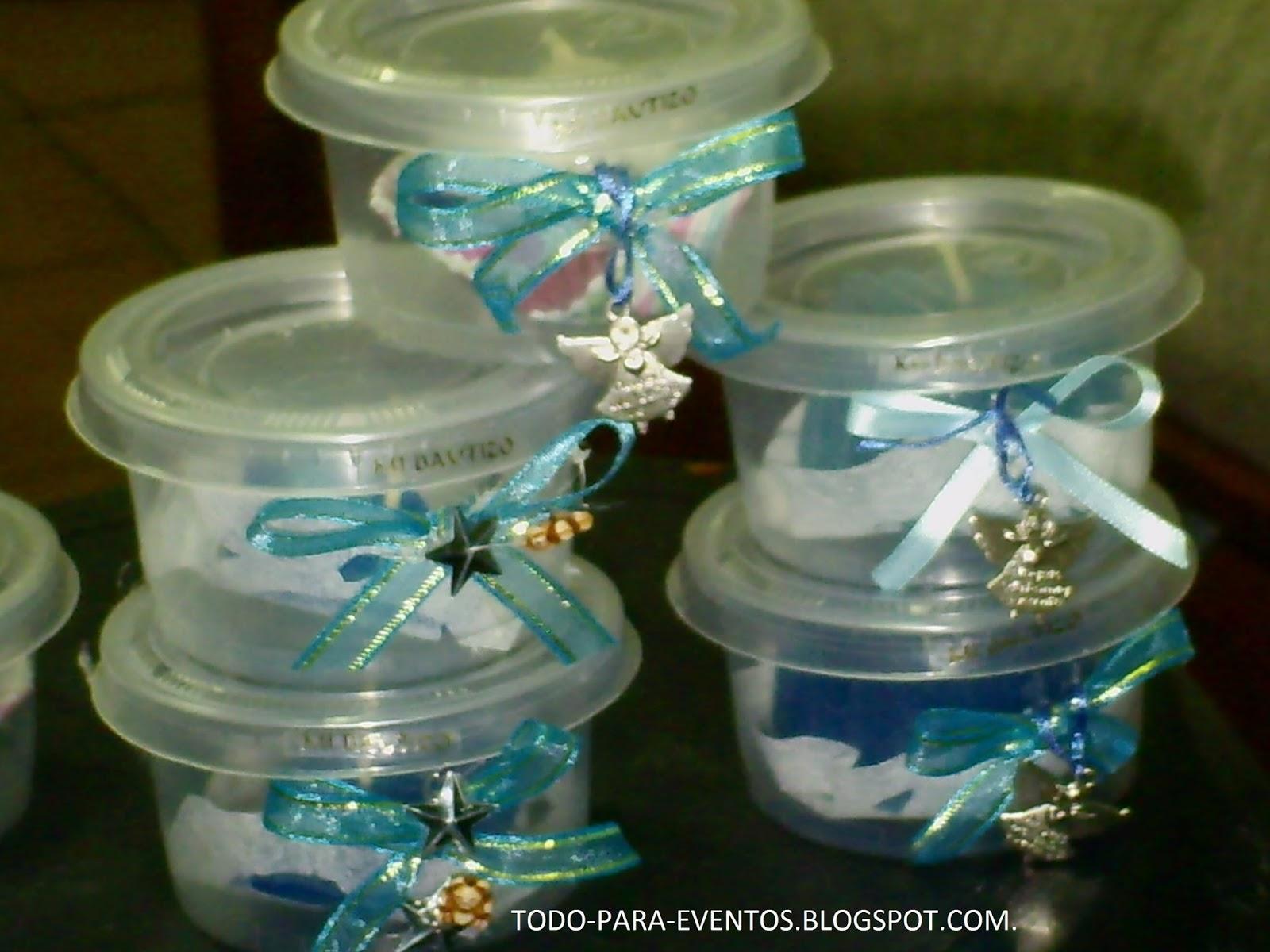 de velas que realize para el bautizo de octavio con parafina de gel