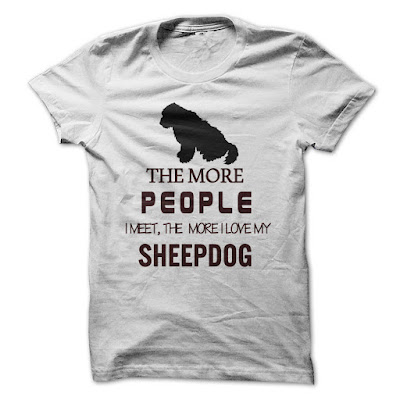 The More People Love My Sheepdog T Shirts