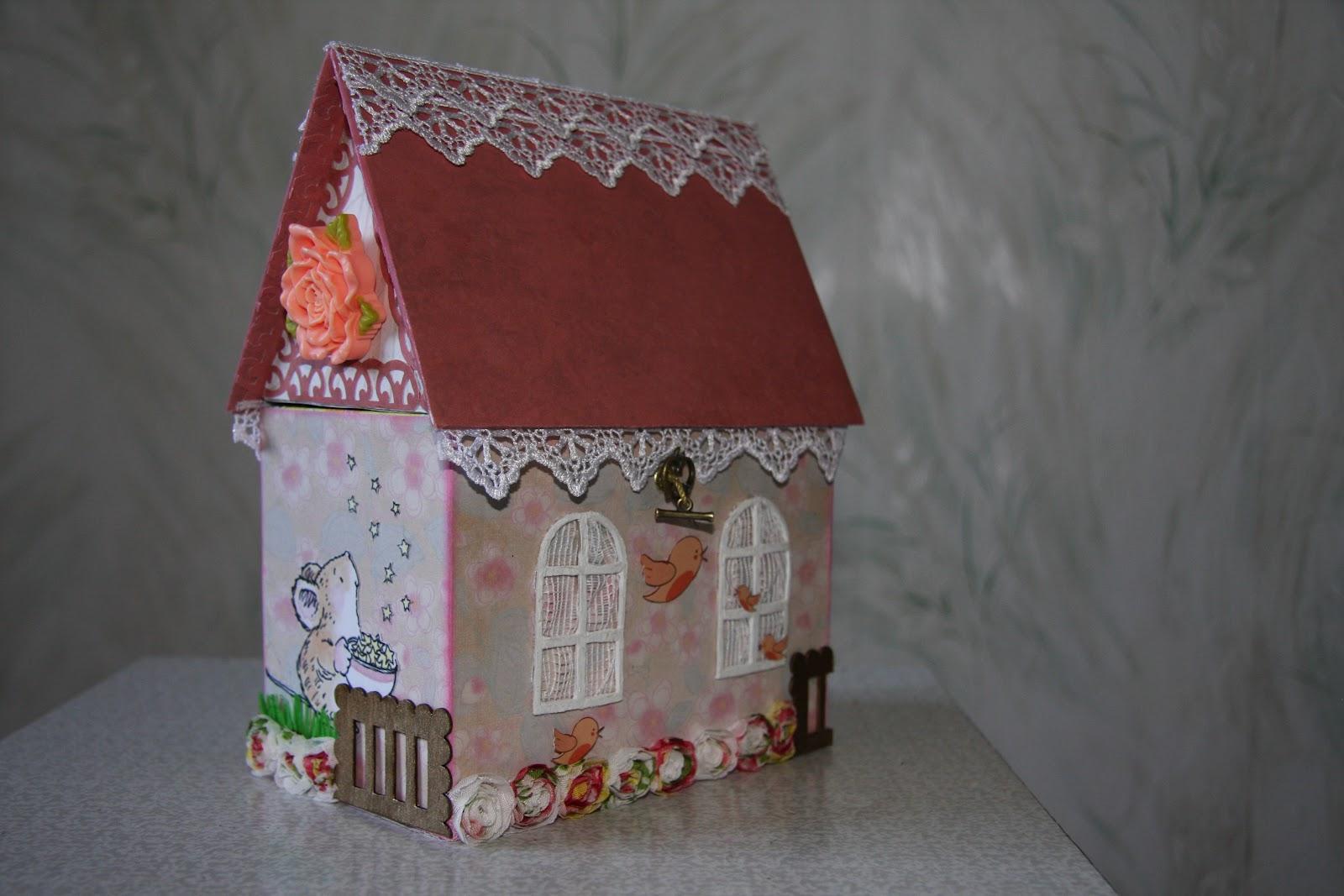 Домик для кукол из киндера сюрприза. Миниатюра 89
