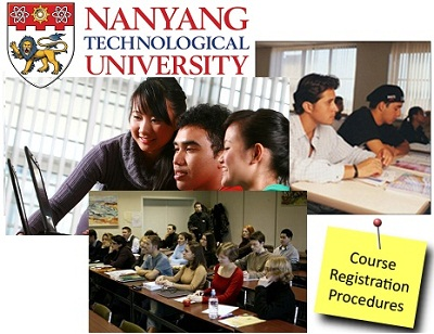 NTU Course Registration Guide from ntu.edu.sg