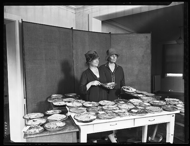 Home Economics Pie Contest Photo via The National Archives