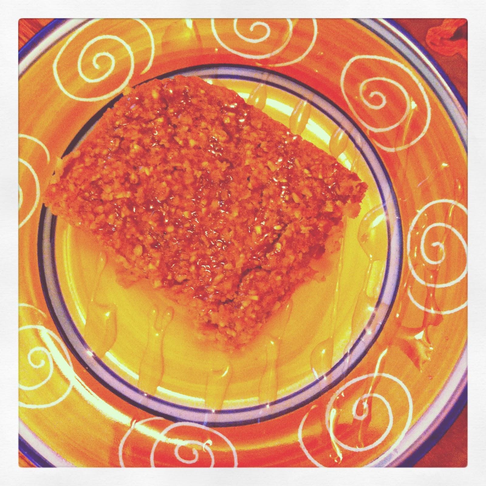health-full: Baked Pumpkin Pie Oatmeal with Steel Cut Oats