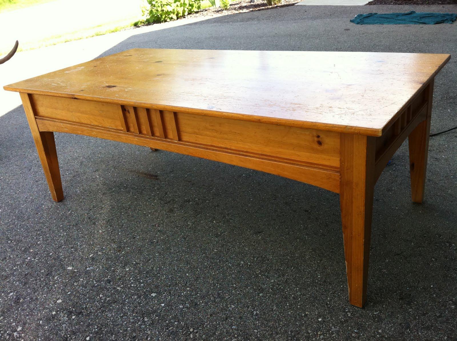Shabby Perfection Thomasville Coffee Table Custom Refinish