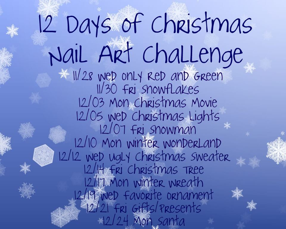 that also means its a 12 days of christmas challenge snowman i like this mani alot this is my first attempt at snowman - What Does The 12 Days Of Christmas Mean