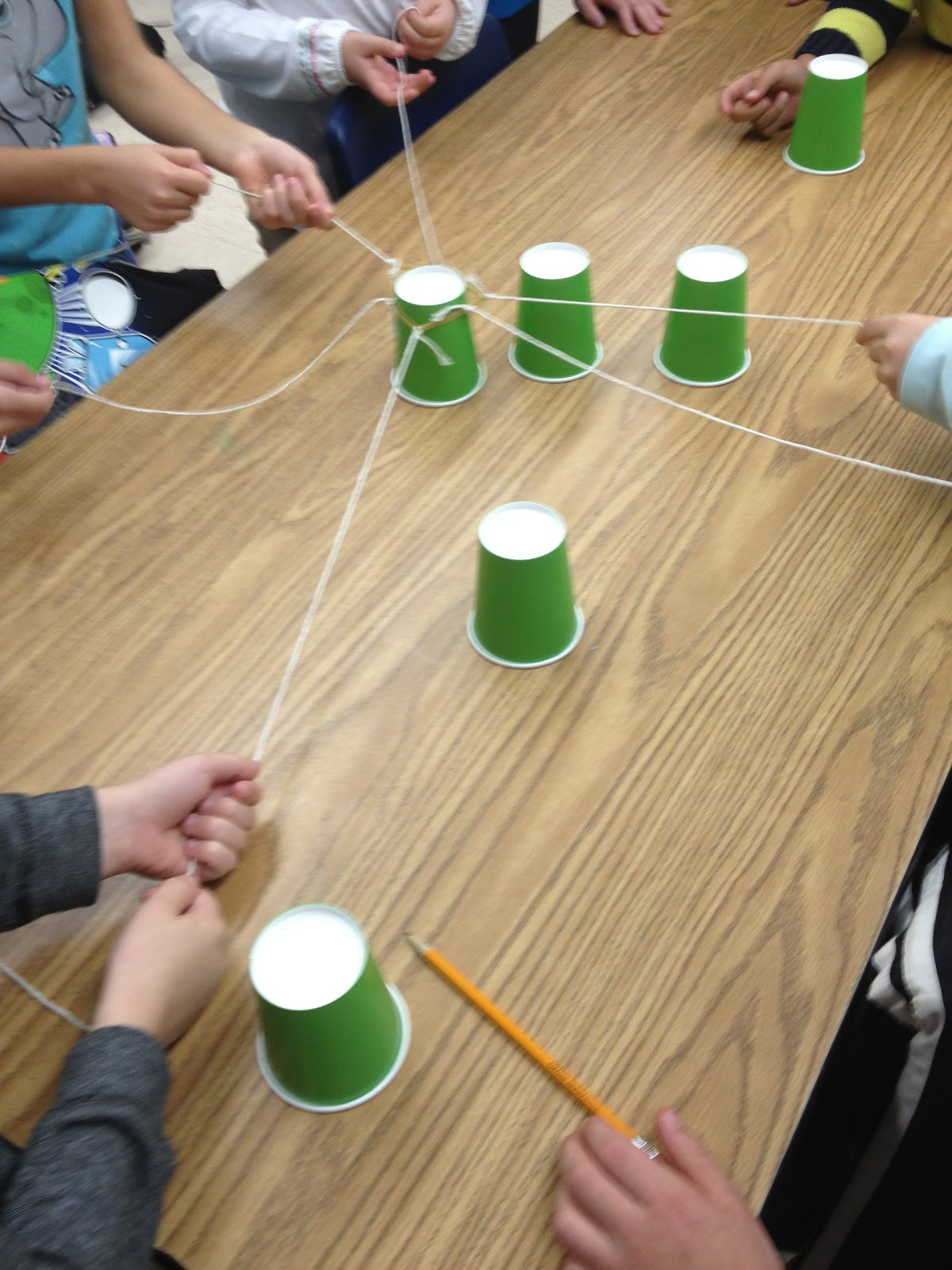 Team Building Cup Stacking Challenge