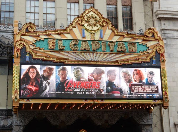 Avengers Age of Ultron El Capitan Theatre Hollywood