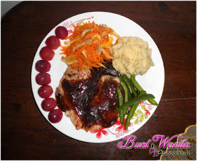Resepi Chicken Grill Black Pepper Sihat Sedap. Cara Masak Ayam Panggang Lada Hitam Best