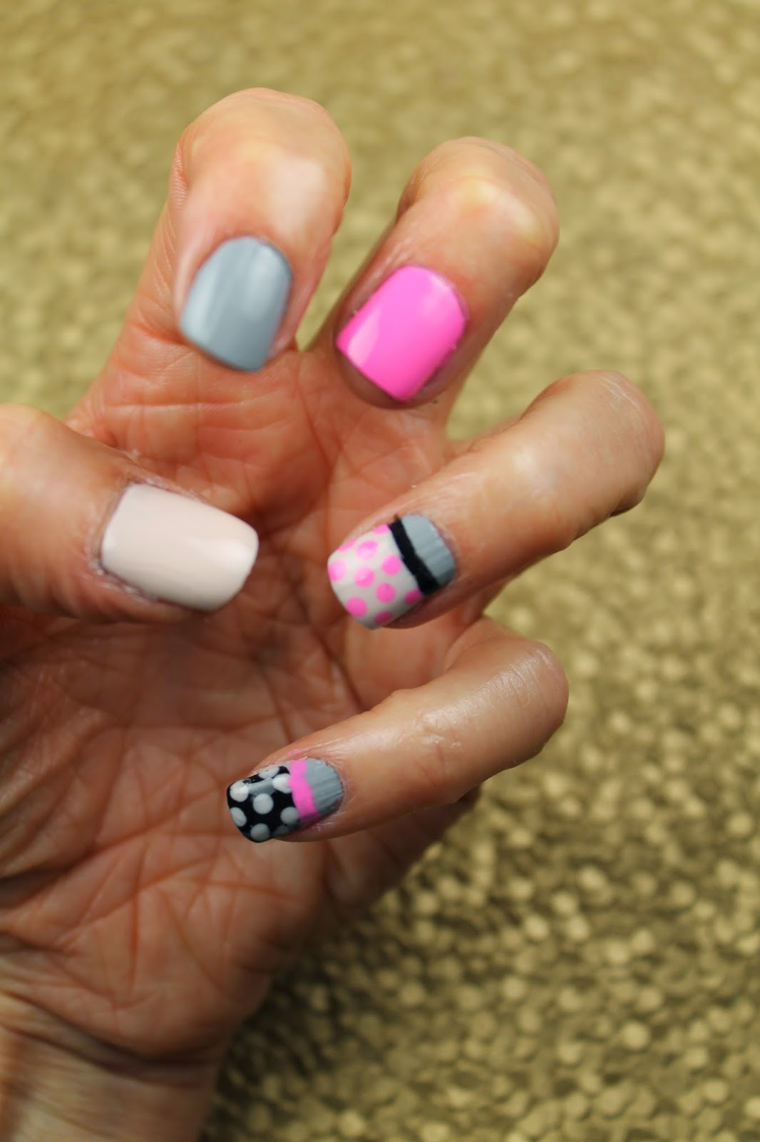 Shine Beauty Beacon: National Polka Dot Day Nail Art: 3 Spotted ...