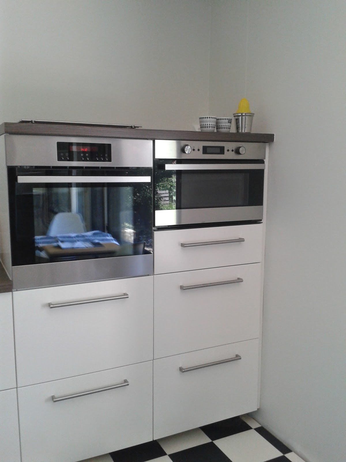 Aamukahvia ja iltateetä Uusi keittiö