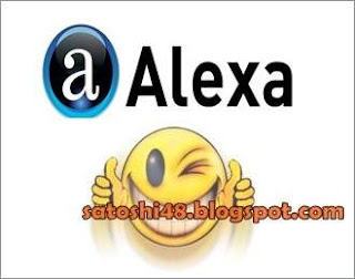 pasang alexa rank di blogspot