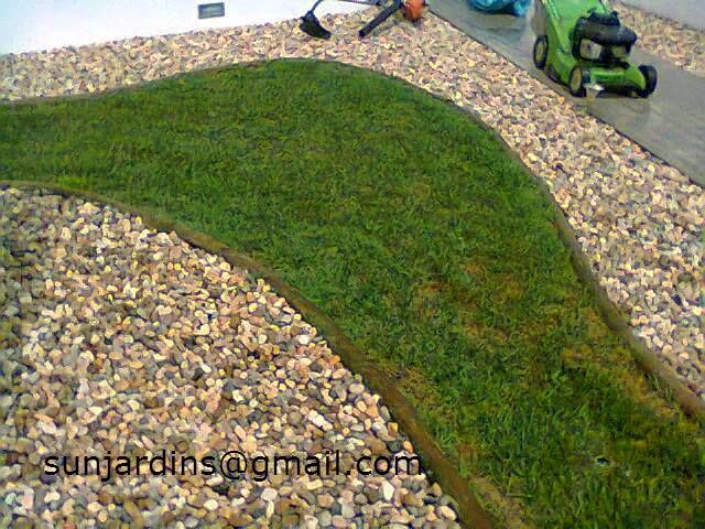 Sun Jardins Pedras para decoraç u00e3o de Jardins -> Decoração De Jardim Com Pedras Grandes