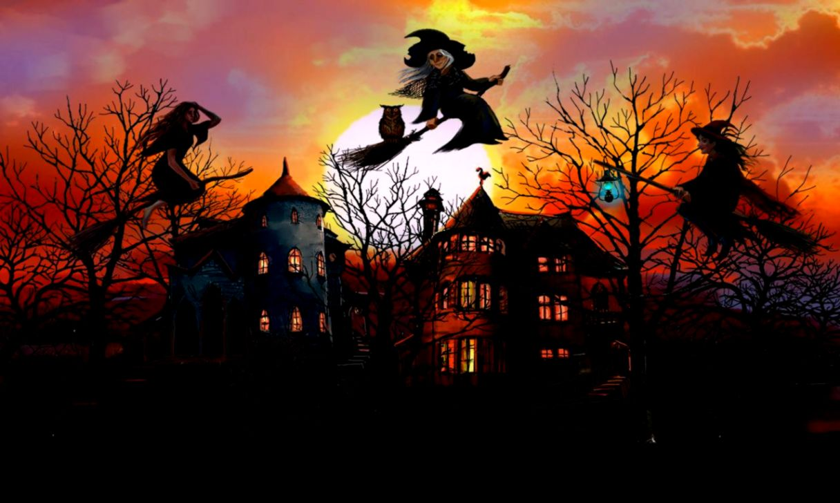 wallpaper witch halloween pictures www