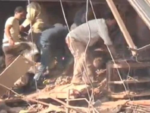 Blast in Petlawad Madhya Pradesh India