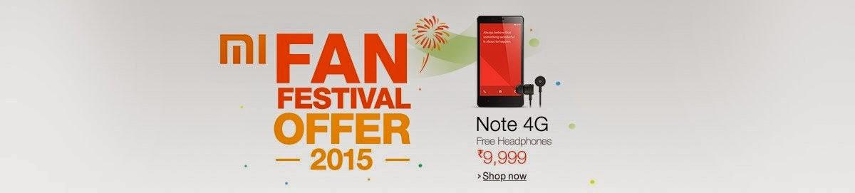Mi fan festival at Amazon Buy all Mi exclusive launches