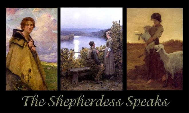 Ruth Carmichael Ellinger, The Shepherdess Speaks