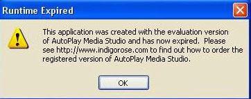Runtime Error saat Menjalankan Aplikasi