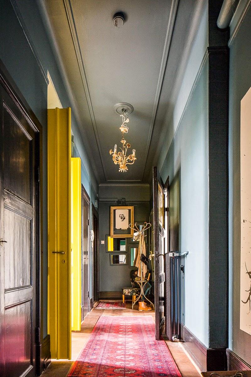 clásico apartamento nórdico en Malmö