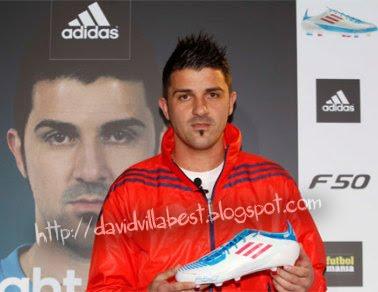 david villa s nchez foto del nuevo modelo de botas de