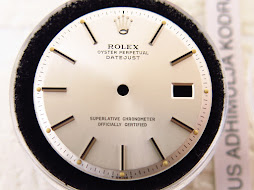 DIAL SILVER ROLEX OYSTER PERPETUAL DATE JUST
