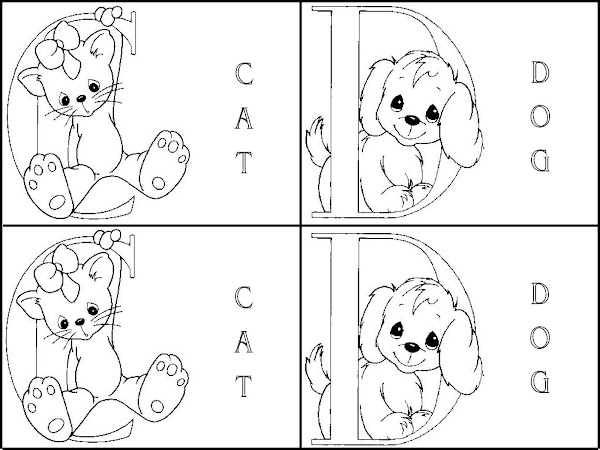 Matching Alphabet Coloring Page