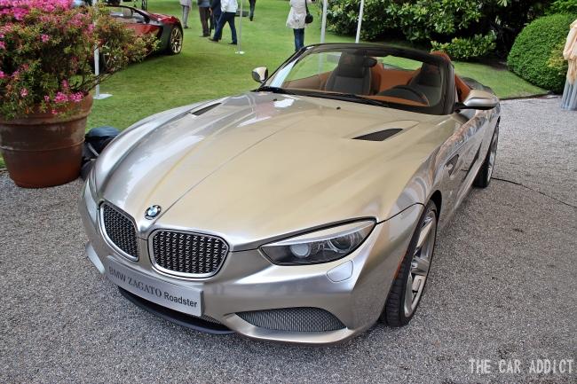 BMW Zagato Roadster Concept at Villa d\'Este 2013