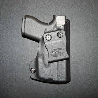 Glock 43 w TLR 6 Holster, tlr 6 holster, tlr6, holster for tlr6, holster glock tlr6