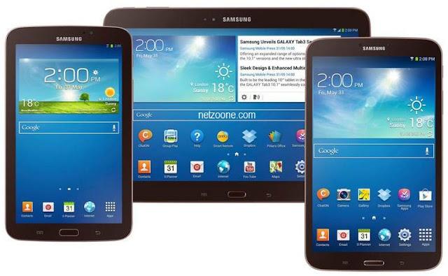 Trio Samsung Galaxy Tab 3