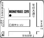 HONEYBEE   MAP