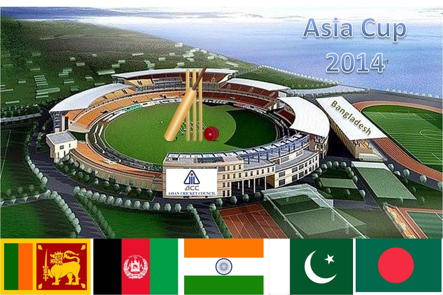 2014 Asia Cup One Day International: 5 Participants, 11 Matches, Bangladesh Hosted the Innings