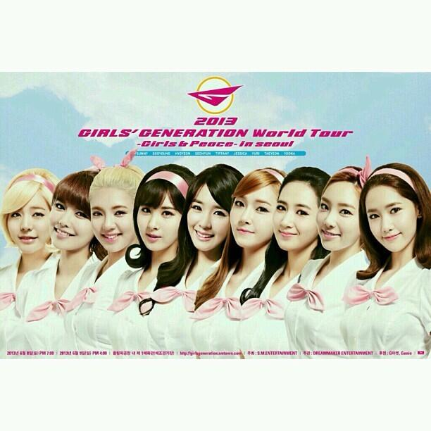 Girls' Generation to Bring World Tour to Taipei, Taiwan