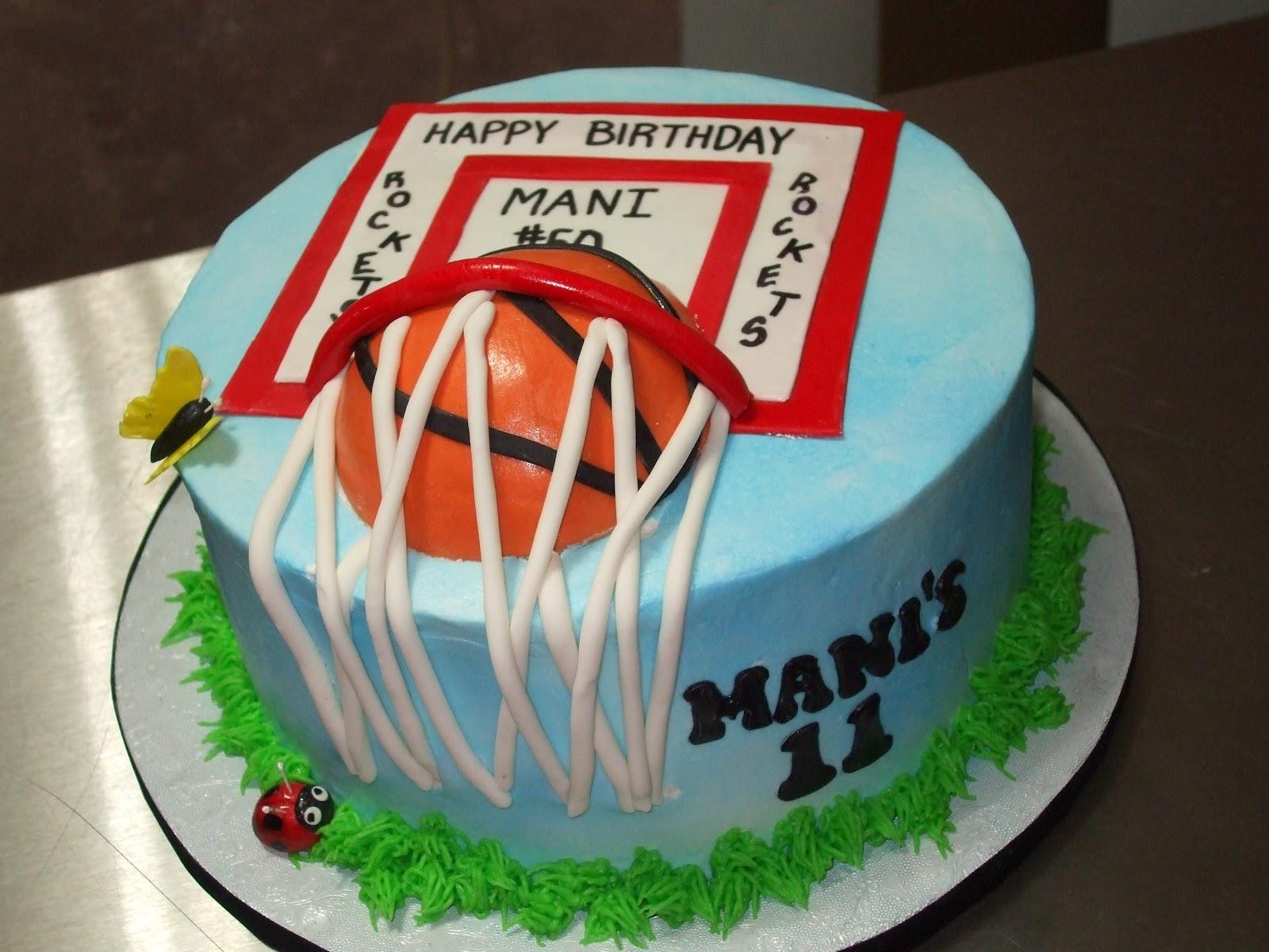 Cakes by Paula: Basketball Theme Cake