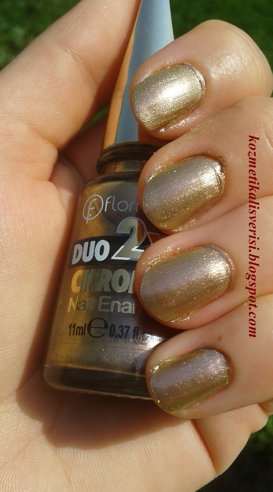 Duo 2X Chrome Nail Enamel DC 01